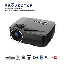 1920*1080P Projector Home Cinema GP70UP Wireless HD Bluetooth WIFI Android I1H3