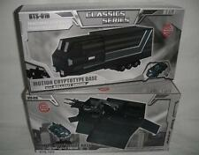 New Transformers BTS.TOY BTS-01B Classics Optimus Prime Trailer Black and Silver