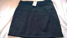 BNWT Jojo Maman Bebe size 16 black tailored mini maternity skirt casual work