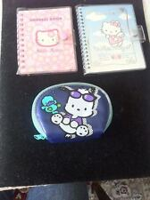 Hello Kitty Lot of 2 Address Book + Coin Purse Collection NEW! (Beautiful)!