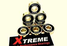 8 pack 608 ABEC-11 GOLD XTREME™ HIGH PERFORMANCE BEARINGS SKATEBOARD LONGBOARD