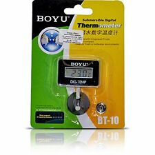 BOYU Submersible Digital Thermometer | BT-10 | Aquarium Thermometer