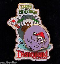 Disney Pin DisneyAuctions.com Disneyland Resort Happy Holidays Donald Duck