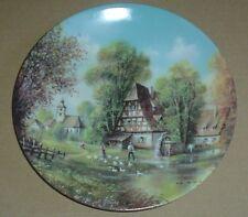 Vohenstrauss Collectors Plate AM MUHLBACH - ROMANTISCHE DORFANSICHTEN