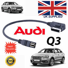 AUDI A3 Series AMI 4F0051510AB iPod MP3 MEMORY Stick USB Cable
