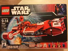 NEW SEALED Lego 7665 Star Wars Republic Cruiser Limited Edition 2007 Retired