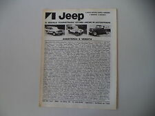 advertising Pubblicità 1980 JEEP CHEROKEE CHIEF/GOLDEN EAGLE