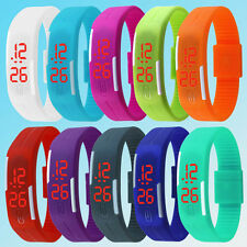 Men/Women/Boy/Girl Slim Silicone Touch Screen Ultra-Thin LED Sports Watch CA52