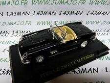 voiture 1/43 IXO altaya FERRARI  : 250 GT California noire