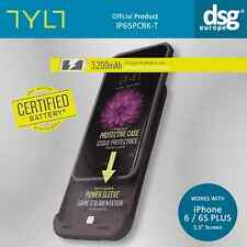 TYLT ENERGI Sliding 3500mAh Power Case IP65 Apple iPhone 6 Plus 6s Plus - Black