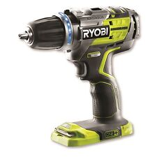 Ryobi One+ BRUSHLESS DRILL DRIVER 18V E-Torque Clutch LED, R18DDBL-0 Japan Brand