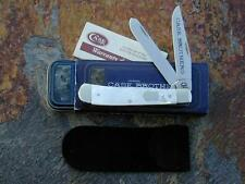 CASE BROTHERS XX 2004 MOTHER OF PEARL LARGE TRAPPER KNIFE MOP RARE MINT WOW