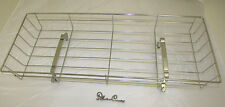SILVER CROSS DOLLS COACH PRAM TOY CHROME WIRE SHOPPING TRAY *** FREEPOST ***