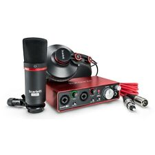 Focusrite Scarlett 2i2 Studio 2nd Gen Recording Bundle Pack w/ Pro Tools First