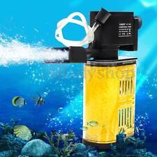 800L/H 13W Water Internal Filter Pump for Aquarium Fish Tank Pool Pond 220-240V
