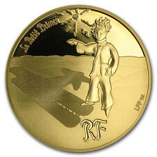 2015 France 1/4 oz Proof Gold €50 The Little Prince (Guide) - SKU #91904