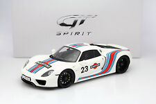 GT Spirit PORSCHE 918 Spyder Martini ZM021 LE 300pcs 1:12*New Item*
