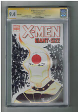 X-MEN GIANT SIZE #1 CGC Signature series Signed/sketch by Mark Irwin!