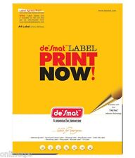 100 Sheet Desmat,ODDY A4 label Sticker Paper ST24A4100,24Label/Sheet 64x34mm
