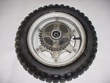 GEMINI FUJI MINI BIKE OEM REAR WHEEL RIM TIRE HUB SPROCKET 3.50 / 4.00 - 10