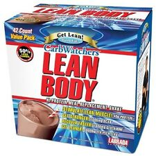 Labrada - Lean Body Carb Watchers Drink Mix 42/Pack Chocolate