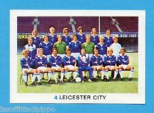 INGHILTERRA-SOCCER STARS 1977/78-FKS-Figurina n.4- LEICESTER CITY - SQUADRA -Rec