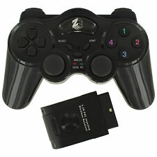 ZedLabz wireless RF vibration gamepad controller for Sony Playstation 2 PS2 PS1
