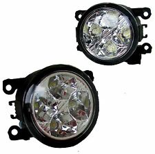 2x LED Front Bumper Fog DRL Lamps lights for Nissan Navara D40 adventura pickup