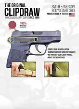 Clipdraw BG-B Belt Clip for Smith & Wesson Bodyguard .380 Concealed Carry Clip