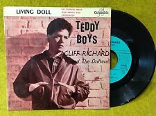 FRENCH EP Cliff RICHARD and the DRIFTERS - TEDDY BOYS - COLUMBIA ESDF 1289