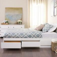 Prepac Full - Double 6 drawer Platform Storage Bed in White WBD-5600-3K New