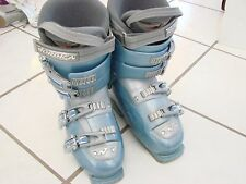 Womens Ski Boots size EUR 40 US size 6.5 Nordica 10W easy move baby blue