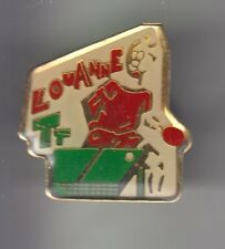 RARE PINS PIN'S .. SPORT TENNIS DE TABLE PING PONG CLUB BD ART LOU ANNE 76 ~CZ