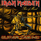 Iron Maiden Guitar Tab PIECE OF MIND Lessons on Disc