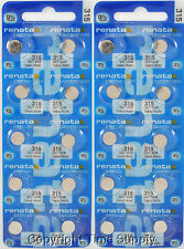 25 pcs 315 Swiss Renata Watch Batteries SR716SW SR716SW 0% MERCURY