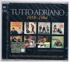 ADRIANO CELENTANO TUTTO TUTTOADRIANO 1958-1964 - 2 CD  F.C. SIGILLATO!!!