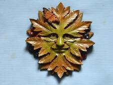 Green Nature Wall Plaque/Green Man/Pagan/Wicca/Witch