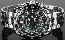 Imported Casio Edifice LUXURY Black Dial Red Bull Luxury Men's Watch-EF-550D-1AV