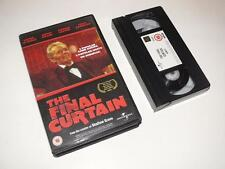 VHS Video ~ The Final Curtain ~ Peter O'Toole ~ Large Case Ex-Rental ~ Universal