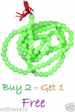 Radium Beads Jaap Mala - Glow in the Dark - Buy 2 - Get 1 FREE