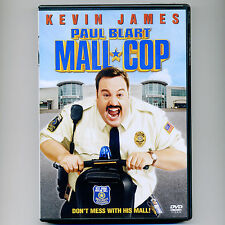 Paul Blart MALL COP 2009 PG family comedy movie, DVD Kevin James Segway security
