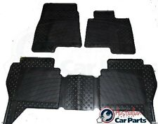 Mitsubishi NS NT NW Pajero Floor Rubber Mats 2007-2016 New Genuine Front & Rear