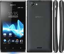 New Original Sony XPERIA J ST26i 4GB Black (Unlocked) Smartphone,5MP,FM,Wifi