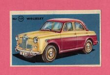 Wolseley 1500 Vintage 1950s Car Collector Card from Sweden
