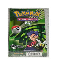 Pokemon Gym Challenge Set KOGA Starter Theme Deck Box