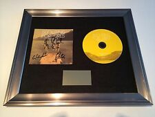 SIGNED/AUTOGRAPHED SCOUTING FOR GIRLS - GREATEST HITS FRAMED CD PRESENTATION.