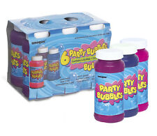 Party BUBBLES 6 Pack - 118ml Bottles (Party Bag Fillers/Fun/Games)