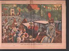 CARDINAL LAURI Congrès eucharistique DUBLIN Irlande  Ireland ILLUSTRATION 1932