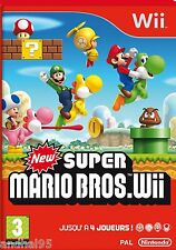 New Super Mario Bros Wii pour Wii (Compatible Wii U)