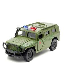 """modèle métallique GAZ """"TIGER"""". Voiture blindée. Armée russe. Police..."""
